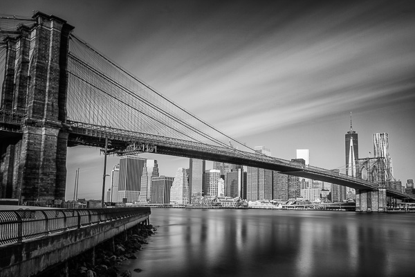 Brooklyn Bridge Black and White - Images On