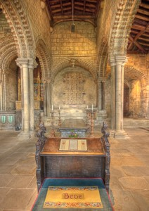 Bedes Tomb, Durham Cathedral