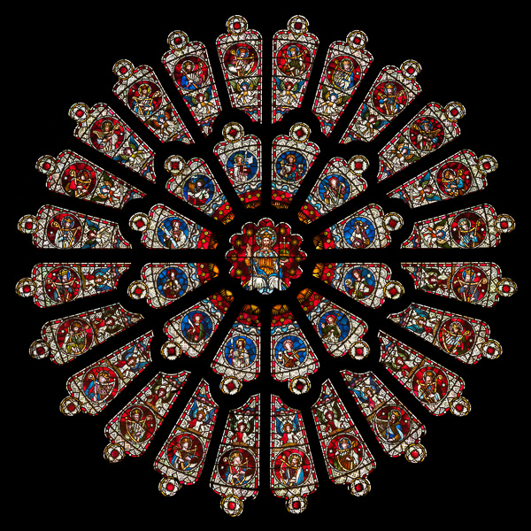 The rose window in durham cathedral images on for Rose window york minster