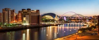 Quayside at Sunset