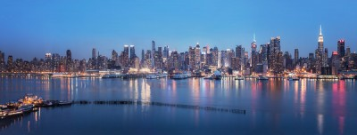 New York from Weehawken New Jersey